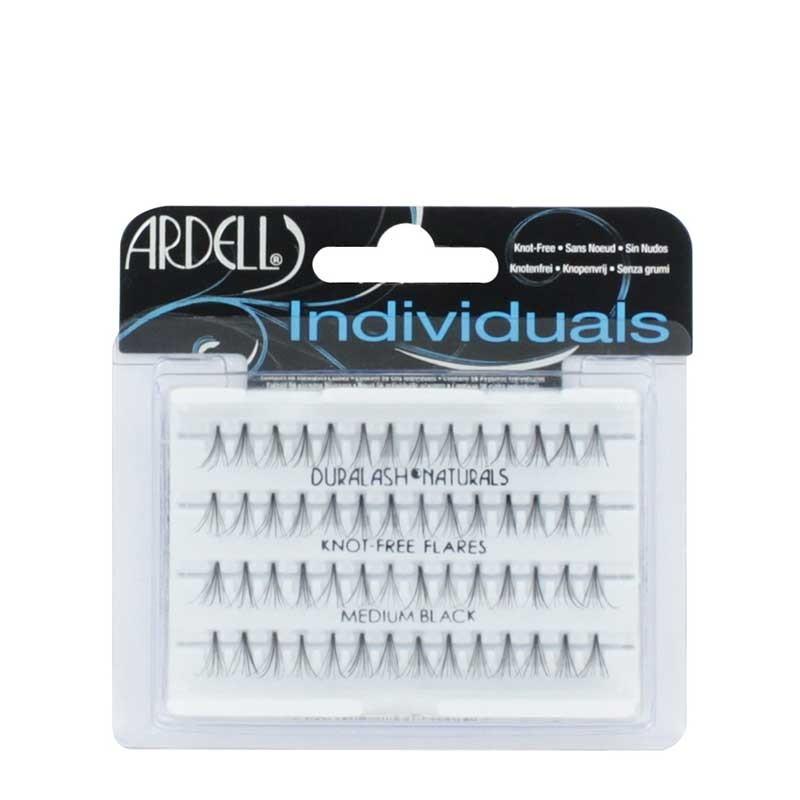 caa9259a1bc Ardell Individuals Duralash Naturals Knot-Free Flares Medium Black ...